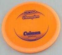 NEW Champion Caiman 162g Mid-Range Orange Innova Disc Golf at Celestial Discs