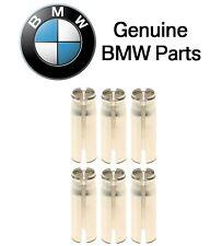 Set of 6 Spark Plug Sleeve Tubes Genuine For BMW E60 E66 E85 E89 E93 F01 F02