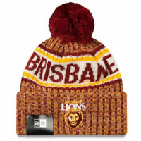 Brisbane Lions Authentic Team Cuff Knit Beanie - New Era