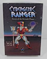 CYBERGENIC RANGER VINTAGE PC VIDEO GAME COMPLETE W/BOX 1990