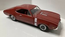 Ertl American Muscle 1:18 Scale Diecast RED 1968 Oldsmobile 442 FREE SHIPPING