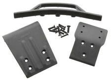 RPM 80022 Front Bumper & Skid Plate Black Traxxas Slash 4x4
