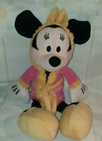 """Minnie Mouse  12"""" Soft Plush Toy Official Disney Store"""