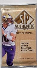 1-2011 UPPER DECK SP AUTHENTIC NFL R/C FUTURE WATCH SERIEL # ?/35 AUTOGRAPH HOT