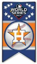 2019 HOUSTON ASTROS AL WORLD SERIES BANNER PIN AMERICAN LEAGUE CHAMPIONSHIP ALCS