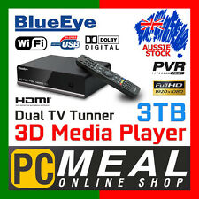 BlueEye V9T3 3TB Full HD 1080P Media Player Recorder 3D Dual DTV Tunner PVR WIFI