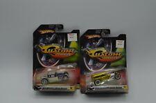 Hot Wheels Custom Classics Bone Shaker 32 Ford Sedan New Blister Pack 1:50 2006