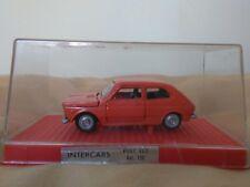 Miniatura 1:43 Nacoral Intercars Chiqui Cars Metal 120 Fiat 127. Made in Spain.