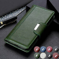 For HTC Desire 20 Pro Luxury Magnetic Flip Leather Wallet Case Card Slots Cover