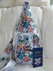 VERA BRADLEY Harry Potter Herbology Mini Sling Backpack Purse Belt Bag  - NWT