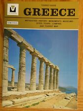 GREECE TOURIST GUIDE D&I Mathioulakis Antiquities History Sites Map PB Book