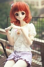 [Clover-yama] puff sleeve+shorts set outfit bjd SD/DD MSD 1/3 1/4 girl doll use