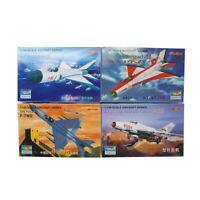 Trumpeter 4PCS 1:144 Aircraft Fighter PLAAF PLA Military Model Assemble Kit
