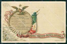 Militari Reggimentali 38º Reggimento Fanteria Brigata Ravenna cartolina XF4860