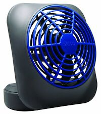 "O2 Cool 5"" Portable Volcano Blue Battery Operated Fan, FD05006BLU"