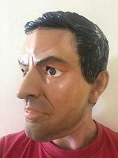 DELUXE JOSE MOURINHO SPECIAL ONE LATEX MASK FOOTBALL MANAGER MANCHESTER PORTUGAL