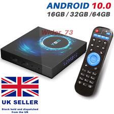 2020 T95 Android 10.0 TV Box Quad Core16/32/64GB HD Media Player WIFI HDMI UK