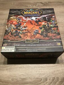 WORLD OF WARCRAFT Miniatures Game - Deluxe Edition - Core Set