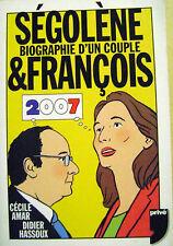 Livre Ségolène et François Biographie d'un couple /N12