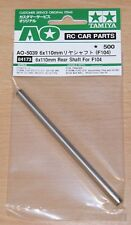 Tamiya 84173 6x110mm Rear Shaft for F104 (F104W/F104X1/F104V.2/F104 Pro), NIP