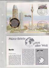 Numisbriefe aus aller Welt Berlin und Infokarte