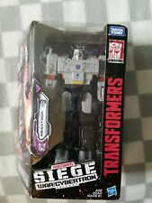 Transformers Siege War For Cybertron Action Figure Voyager Class MEGATRON G2
