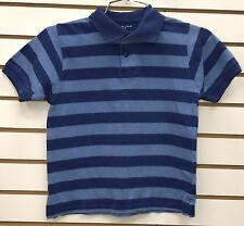 Blues Clues Joe Blue Stripe Short Sleeve Shirt Kids Size 7X Sonoma Halloween