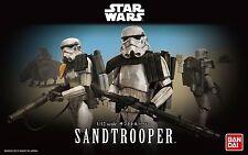 BANDAI STAR WARS MODEL KIT sandtrooper MAQUETTE 1/12 A MONTER