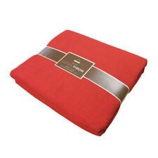 Édredons et couvre-lits rouge pour chambre en 100% coton