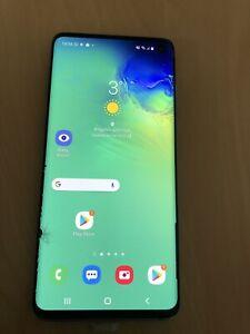 Samsung Galaxy S10 SM-G973F - 128GB - Prism Black (O2) (Dual SIM) Damaged