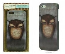 IPHONE 5 /5S GRUMPY OWL BACK COVER SLIM PRETTY CASE MOBILE PHONE CELL PROTECTOR