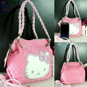 New Shoulder bag Mini HELLO KITTY crossbody strap pink purse for women hand bags