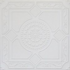 R30 LIMA STYROFOAM 20x20 TIN LOOK CEILING TILES DIFFERENT COLORS