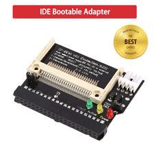 40 pin cf To ide compact flash memory card adapter universal pci bracket VV