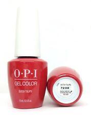 New Package Gelcolor-Soak Off Gel Nail Polish-opi DUTCH TULIP -GCL60- 0.5oz/15ml