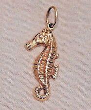 Vintage 14K Yellow Gold Seahorse Charm