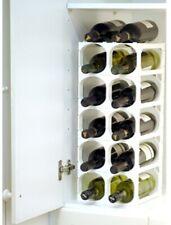 Cellarstak WINE RACK 52x24x23cm Holds 12/15-Bottles WHITE