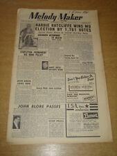 MELODY MAKER 1948 SEPTEMBER 11 HARDIE RATCLIFFE CYRIL STAPLETON HARRY HAYES +