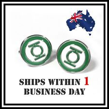 NEW Novelty SuperHero Green Lantern Cufflink Unique Cufflinks Men Shirts Wedding