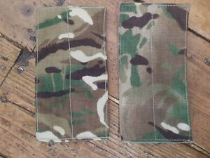 British Army Osprey MK4 Pack of 2X Blanking Panels - MTP - Used - Grade 1 - No3