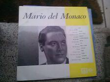 """LP 12"""" MARIO DEL MONACO CON L'ORCHESTRA SINFONICA DI MILANO DIR. A.  QUADRI"""