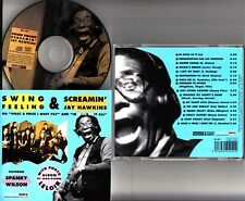 Swing Feeling & Screamin' Jay Hawkins- Spanky Wilson 1995 R&B Funk CD NM