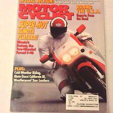 Motor Cyclist Magazine Bimota Tuatara Ferrari  F40 November 1990 061617nonrh