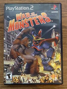 War of the Monsters (PS2 2003) CIB Complete & Tested Playstation 2 Game NTSC/UC