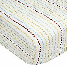 KIDS LINE CRIB SHEET - WHO'S AT THE ZOO BOYS - BABY TODDLER CRIB BED