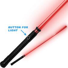 Sword of Light Replica 1:1 Black Metal Handle Red Beam Polycarbonate Saber