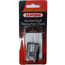 "Janome AcuFeed 1/4"" Inch Seam Foot - 9mm for Patchwork Horizon Quarter"