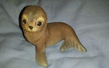 Vintage 1978 Roger Brown Wilderness Babies Akiku the seal figurine