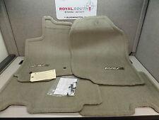 Toyota Rav4 06 - 08 Taupe Carpet Floor Mats Set Genuine OEM OE