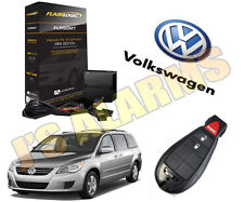 NEW 2011 VOLKSWAGEN ROUTAN REMOTE START PLUG & PLAY ADD ON FACTORY KEY FOB VW